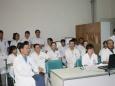 我院放射科率先完成2010年度住院医师三基技能考核