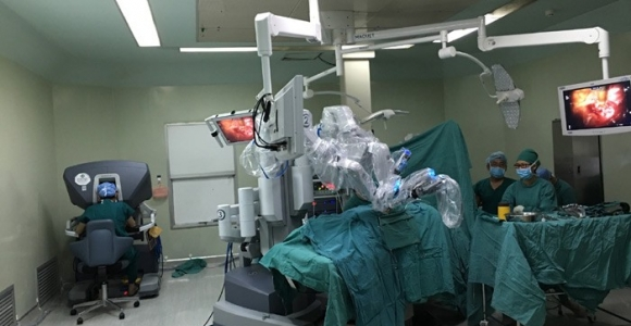 达芬奇机器人胸外手术