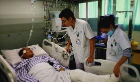 情系九寨地震伤员  省医康复在行动