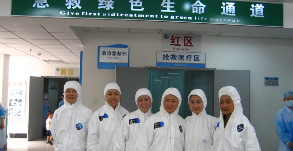 CCTV直播传染病应急演练