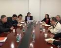 台北林口长庚纪念医院代表团来院交流访问