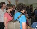 德国学者团访问城东病区