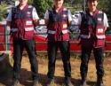 驰援尼泊尔-医疗队中的三朵