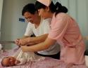 我院产科母婴区推行床旁护理新模式
