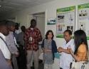 法语非洲国家针灸培训班学员参观我院
