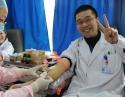 我院职工踊跃参与2014新年爱心献血活动
