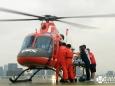 首个长宁地震重伤员通过空中救援顺利转运至四川省人民医院