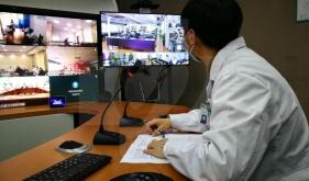我院完成新型冠状病毒感染的肺炎5G远程心理援助