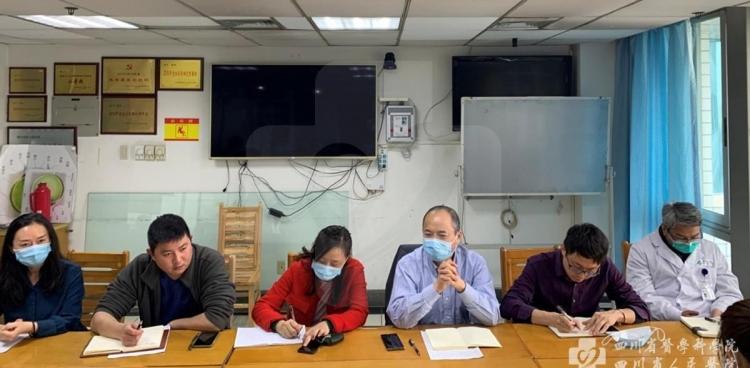 杨正林副院长带队调研眼科、肾脏内科、急救中心学科建设工作