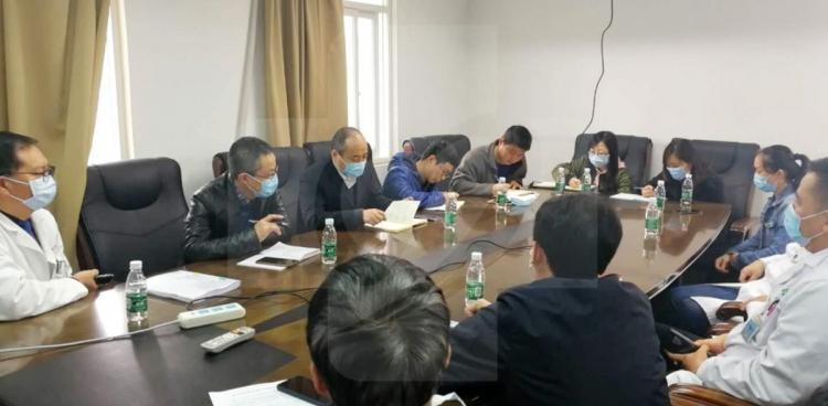 杨正林副院长带队调研器官移植、超声医学学科建设工作