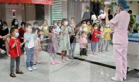 儿科党支部联合慈善办、护理部开展儿童节系列科普宣教活动