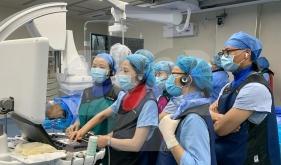 我院首例经导管二尖瓣夹合术成功实施