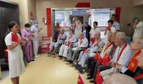 """老年呼吸科党支部开展""""聆听革命故事、传承红色基因""""主题党日活动"""
