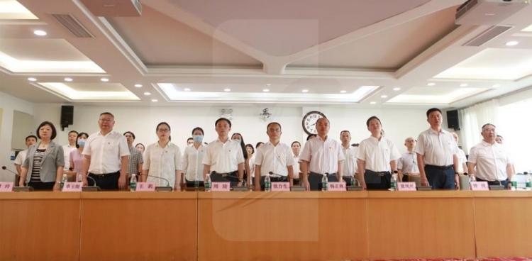 我院组织党员职工收看收听庆祝中国共产党成立100周年大会