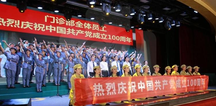 """我院举办""""2021颂歌献给党暨第五届省医故事汇""""活动"""