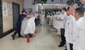 营养科开展消防安全培训