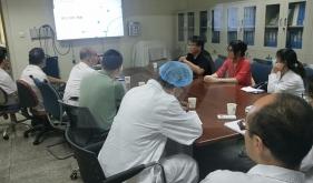 电子科技大学刘明教授团队到核医学科开展医工结合项目交流合作